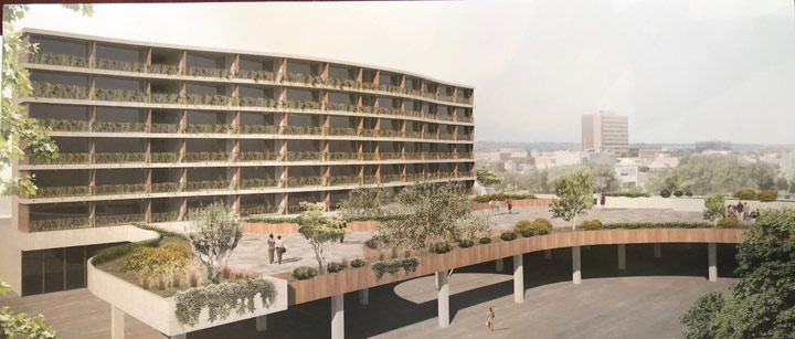 A rendering of the Villa Biancini retirement residence