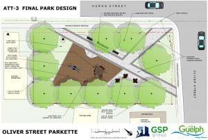 Final Design of the Oliver Street parkette