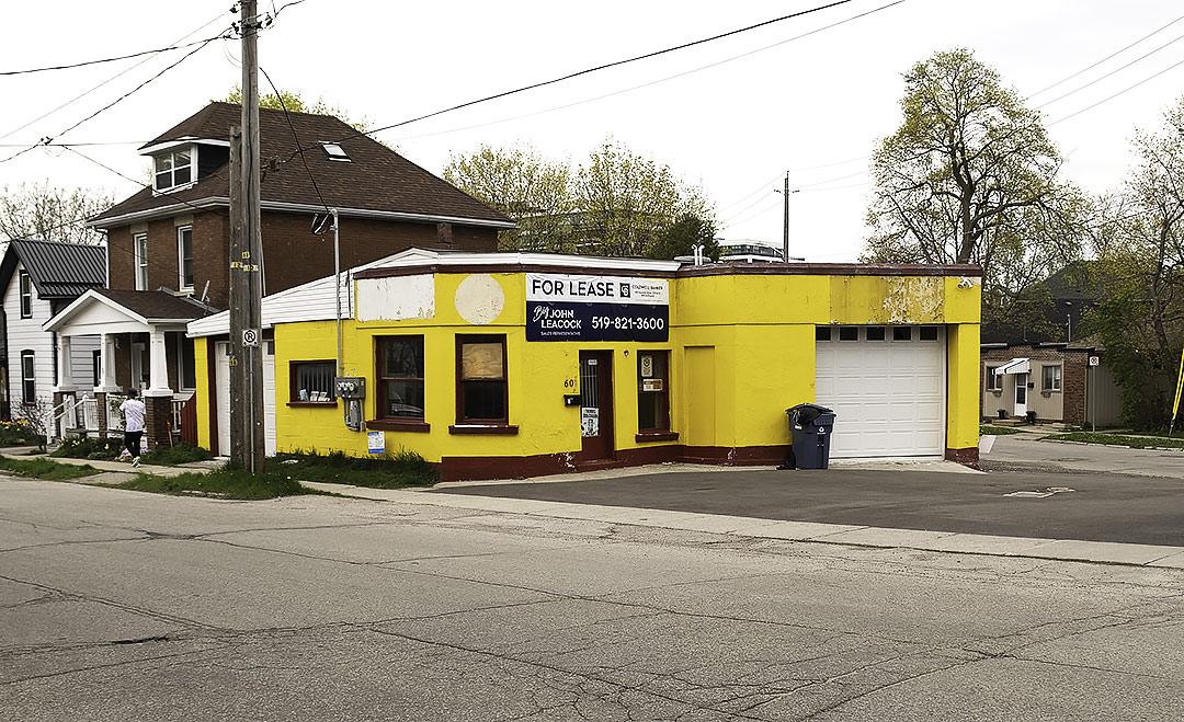 Old Bradburn Auto building at Ontario and Arthur